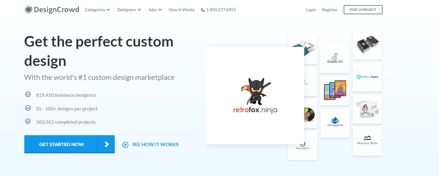 Best Freelance Website DesignCrowd