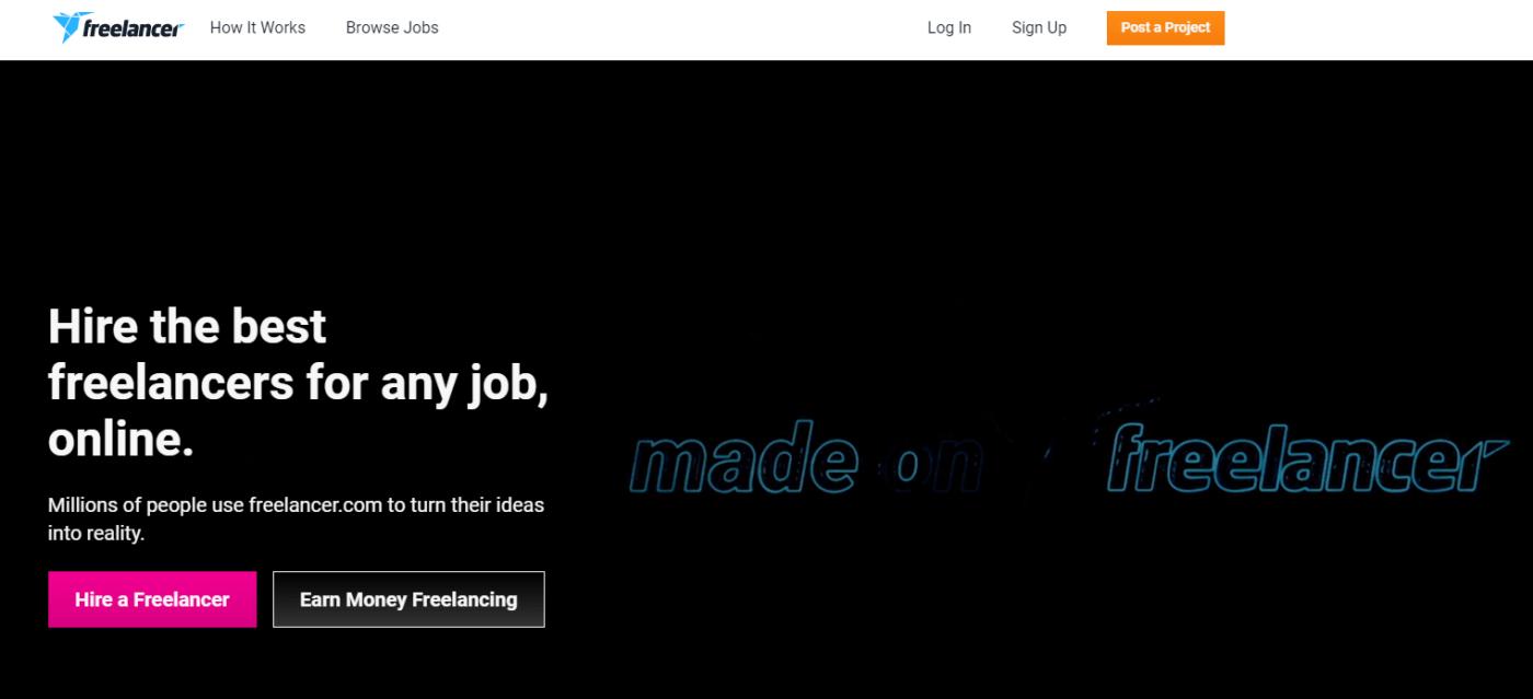 Best Freelance Website Freelancer.com