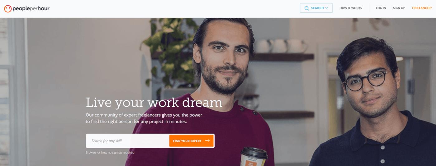 Best Freelance Website PeoplePerHour