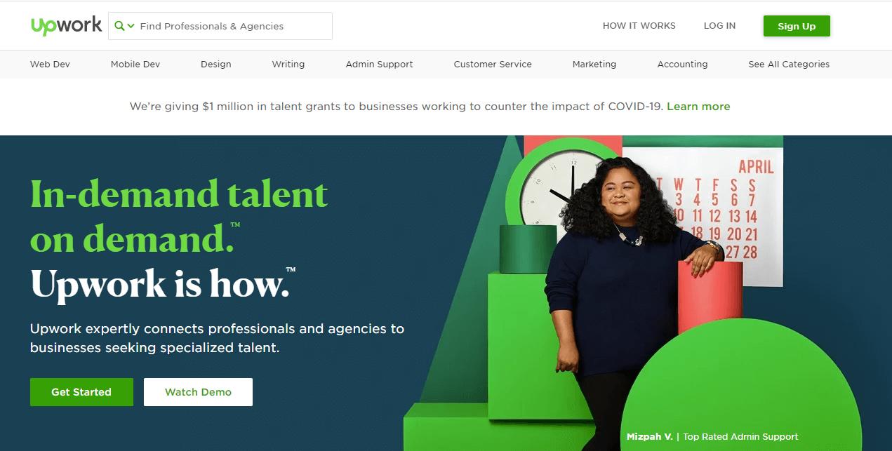 Best Freelance Website UpWork